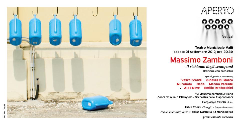 Massimo Zamboni – Il richiamo degli scomparsi