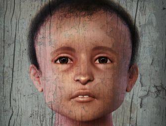Il volto della mummia in 3d