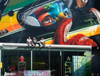 Murales per Ayrton Senna