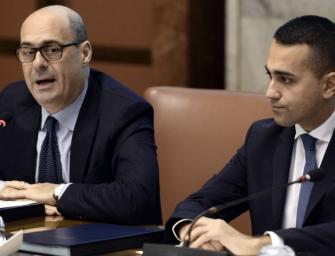 """Zingaretti: """"Nessun automatismo di alleanza Pd-M5S per le elezioni regionali"""""""