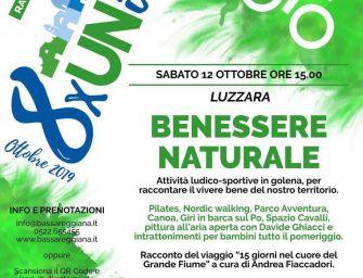 """""""Benessere Naturale"""" al lido Po di Luzzara"""
