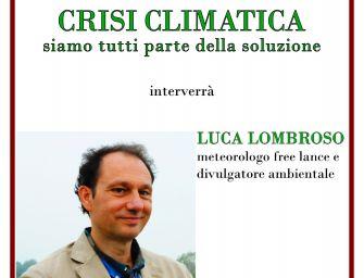 Novellara. Luca Lombroso parla dei cambiamenti climatici