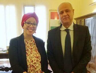 Consigliera Pd Mahmoud fa pace con il questore