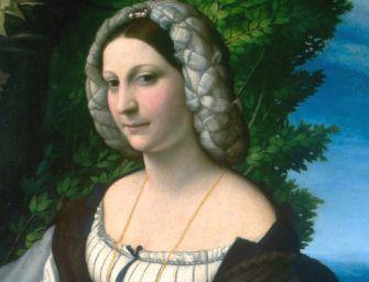Palazzo Magnani riporta la 'dama' del Correggio