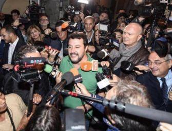 Salvini esulta: e ora vinciamo in Emilia