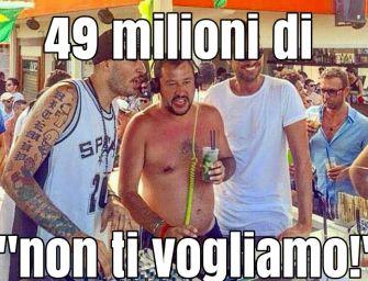 """Protesta per la visita di Salvini a Parma: 49mln di """"Non ti vogliamo!"""""""
