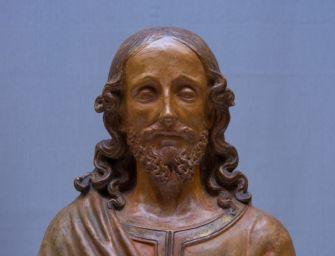 """Reggio, ai Musei presentazione della scultura """"Busto di Redentore"""""""