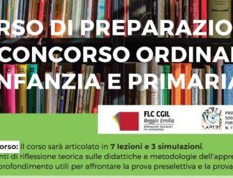 Reggio, Flc-Cgil avvia un corso di preparazione al concorso per scuola d'infanzia e primaria
