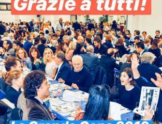 Grande Cena di Boorea: 800 partecipanti e 24mila euro raccolti