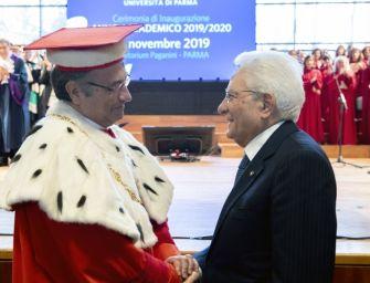 Mattarella a Parma parla di clima