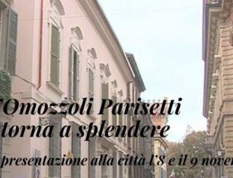 Reggio, dall'8 novembre torna a risplendere l'Omozzoli Parisetti