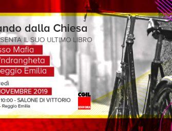 """Giovedì 21 novembre alla Cgil di Reggio la presentazione del libro """"Rosso Mafia"""" di Nando Dalla Chiesa"""