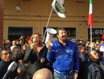 Regionali, il tour di Salvini: in Emilia cadrà secondo Muro