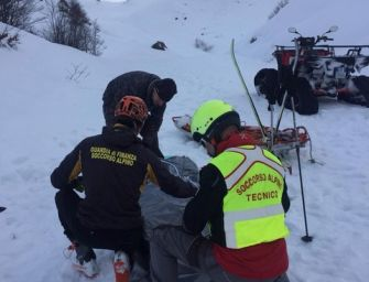 Sci alpinista di 71 anni muore sul passo d'Annibale