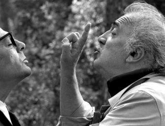 Migliaia per il genio di Fellini