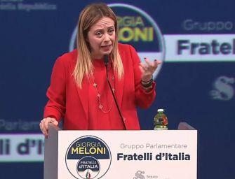 Meloni (FdI): la nostra candidata è Lucia Borgonzoni