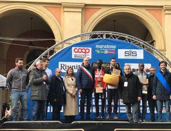 """Maratona di Reggio, Youssef Sbaai ha vinto col tempo di 2.14'53"""""""