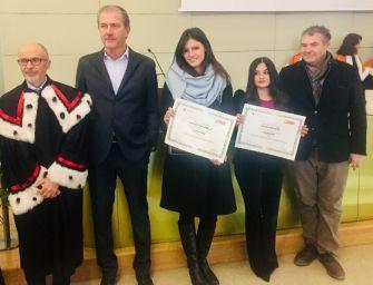 """Conad e Unimore. Consegnato il premio """"Liliano Boni"""" a 2 giovani neolaureate"""