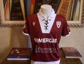 Reggiana, maglia del centenario col Padova