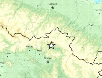 Terremoto di magnitudo 4,5 nel Mugello