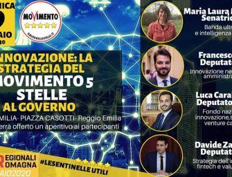 """Regionali. """"Strategia dei 5s al governo"""", incontro a Reggio"""