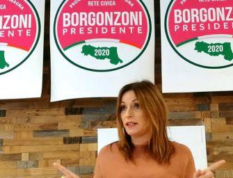 La Borgonzoni presenta la lista col suo nome