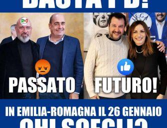Borgonzoni trollata sui social: sondaggio boomerang, spopola il Pd