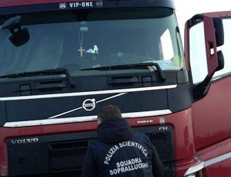 Reggio. Rinvenuto il cadavere di un camionista in un'area di servizio