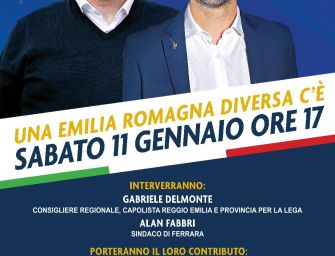 'Un'Emilia-Romagna diversa c'è', a Reggio convegno col sindaco leghista di Ferrara