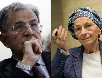 Emma Bonino e Romano Prodi per +Europa per l'Emilia-Romagna