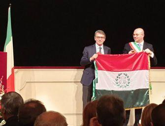 Festa bandiera, Sassoli alle celebrazioni