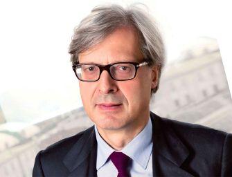 Reggio, scienza giuridica e arte con Vittorio Sgarbi