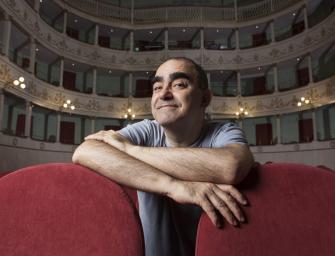 """Elio de Le Storie Tese e Rocco Tanica al Valli per """"Una storia fantastica"""""""
