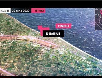 Giro d'Italia, nell'edizione 2020 tre tappe in Emilia-Romagna