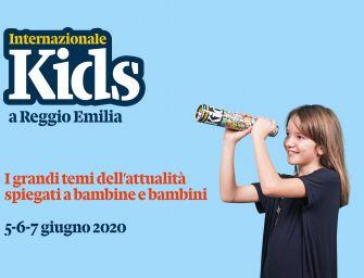 Internazionale Kids a Reggio, per 3 giorni i bimbi al centro dell'attualità