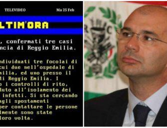 Coronavirus. Fake news su contagi a Reggio corre sui social, il sindaco e l'Ausl: denunciamo
