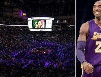 Staples Center celebra Kobe Bryant, la Nike: Reggiano Forever