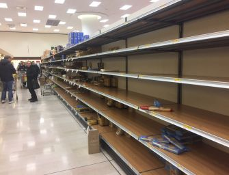 Effetto Coronavirus, svuotati i supermercati
