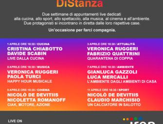 Compagni DiStanza, 6 eventi social di Iren luce gas e servizi che terranno compagnia al popolo del web