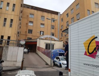 L'impegno di Coopservice per l'ospedale Covid-19 di Napoli