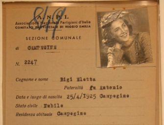 L'Anpi di Reggio: addio Eletta Bigi, ultima testimone della pastasciutta antifascista