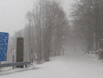In Emilia-Romagna ancora allerta gialla per vento e neve nella fascia appenninica