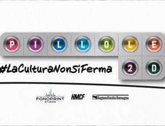 In Emilia-Romagna #laculturanonsiferma: continua il festival online voluto dalla Regione