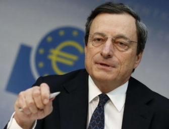 Draghi: agire per evitare la depressione