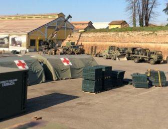 Piacenza. Chiude ospedale da campo militare