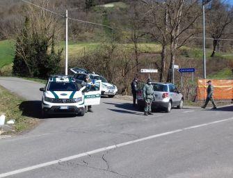 Reggio, Coronavirus: i controlli della polizia provinciale sugli spostamenti