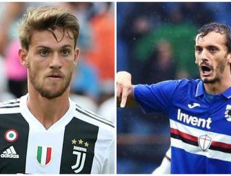 Calcio, Rugani e Gabbiadini positivi