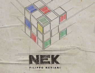 Svelata la copertina e la data di uscita del nuovo album di Nek