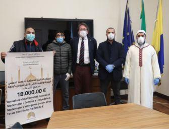 Coronavirus. Donazione comunità islamica, il sindaco di Modena ringrazia