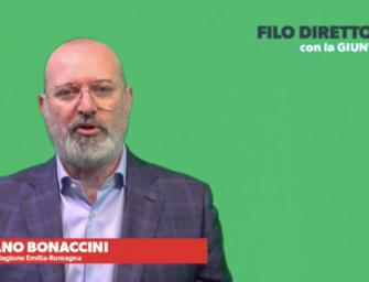 """""""Filo diretto con la giunta"""": risponde il presidente della Regione Stefano Bonaccini"""